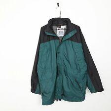 K.WAY Zip Up Lightweight Coat Jacket Blue | Medium M