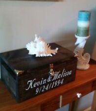 Personalized Wedding Card Box - Rustic Wedding Card Box - Rustic Wedding Stuff
