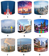 City Of Toronto Lampshades, Ideal To Match Toronto City Wall Decals & Stickers