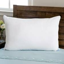 Pillow JDX Solid Bed Sleeping Pack of 1 White Filling Material Polyester
