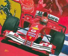 Art Card 2004 Ferrari F2004 #1 Michael Schumacher (GER) by Toon Nagtegaal (OE)