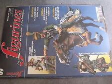 $$r Revue figurines N°69 Officier Westphalien  Samourai naginata  Charles XII