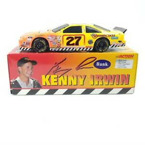 1997 Kenny Irwin Jr. Tonka 1/24 Action Black Window Bank NASCAR Diecast