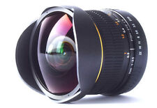 JINTU 8mm f/3.5 Fisheye Camera Lens for Canon Rebel XS XTi XSi SL1 5D II III