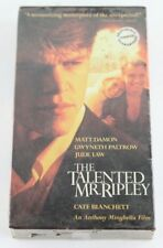 The Talented Mr. Ripley Vhs New Matt Damon Jude Law Patricia Highsmith Thriller