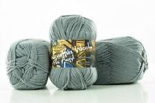 10 x 100g Graffiti Wool Pro Acryl Strickgarn 100% Polyacryl -titangrau- by Anune