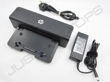 HP Compaq Elitebook 8440w 8540w Docking Station & 90w AC Adattatore UK