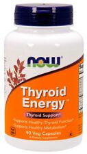Now Thyroid Energy Healthy Thyroid Function & Metabolism Iodine Tyrosine 90 Caps