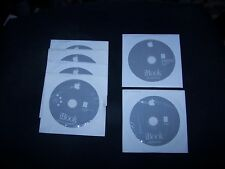 Apple iBook Software Restore,, Install and Applications CD's (6 in all)