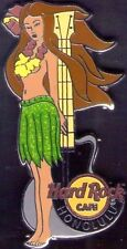 Hard Rock Cafe HONOLULU 2013 Sexy HULA GIRL & GUITAR PIN - HRC Catalog #75500