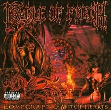 CRADLE OF FILTH-LOVECRAFT & WITCH HEARTS CD NEW