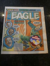 "EAGLE Comic - Date 05/05/1984 - With Free ""HEINZ INVADERS"" FREE Gift - UK Comic"