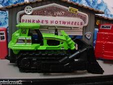 Dinky 561//961 blaw knox bulldozer paire de reproduction chenilles de caoutchouc noir ou vert