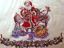 SANTA, REINDEER, RABBIT Treeskirt Christmas KIT - OOP