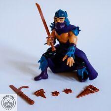 Vintage Teenage Mutant Ninja Turtles Shredder 1988 100% KOMPLETT TMNT Hero