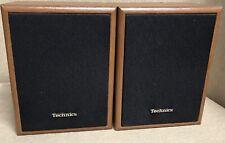 "Vintage Technics Speakers Model SB-S16 30W bookshelf speaker 8"" tall no wires"