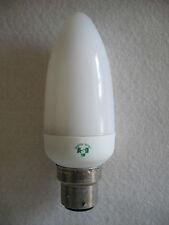 AFFARE di 3 (GET 4) ASD 5 W compatte fluorescenti CANDELA LUCI-B22 PAC-Bianco Caldo