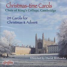 [BRAND NEW] CD: CHRISTMAS-TIME CAROLS: CHOIR OF KING'S COLLEGE, CAMBRIDGE