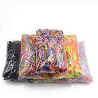 EG_ 2000Pcs Mix Color Baby TPU Rubber Hair Bands Holders Elastics Tie Gum Goodis