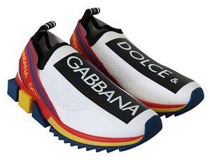 DOLCE & GABBANA Shoes Sneakers Multicolor SORRENTO Sport Stretch EU40 / US7