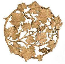 Grape Vines Trivet by Michael Michaud - Silver Seasons Table Art, Antique Bronze