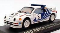 Altaya 1/43 Scale AL23121 - Ford RS200 Sweden Rally 1986 - #8 Grundel/Melander
