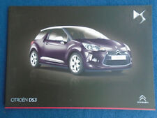 Citroen DS3 brochure Nov 2013