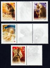 CHRISTMAS = JESUS BABY = Set of 4 + Labels from SS Canada 2009 # 2343a-d MNH