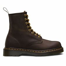 Dr.Martens 1460 8 Eyelet Crazy Horse Brown Mens Boots