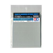 Tamiya Sanding Sponge Sheet 3000 (114 x 140 x 5mm) #87171