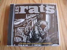 C'est parti pour ne pas s'arranger !!! - LES RATS (Berurier noir)  (CD)  Neuf