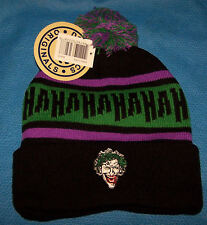 One Size DC Comics Mens Adult The Joker Beanie Hat