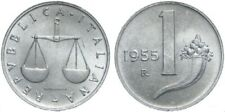 REPUBBLICA ITALIANA - RARA MONETA DA 1 LIRA - 1955
