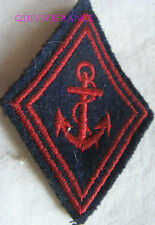 IN8313 - LOSANGE DE BRAS, Coloniale, Troupes de Marine