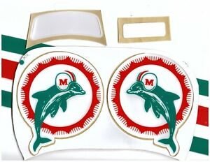 Dolphins TB Football Helmet Decals Free Shipping
