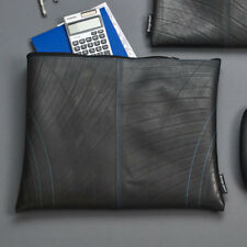 Design Ideas Retread 100% Recycled Rubber Tire Folio pouch size Large colorBlack