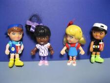Targeteers Doll PVC figure Lot of 4-TARGET FOOD AVENUE Happy Meal Toy-girls boys