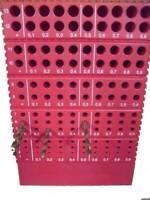 Bohrerregal für Bohrer von Ø 1,0 bis 13,9 mm für 130 Bohrer