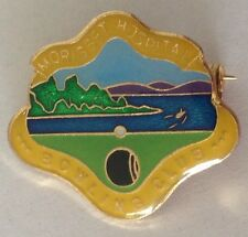 Morisset Hospital Bowling Club Badge Rare Vintage (L2)
