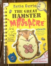 THE GREAT HAMSTER MASSACRE BY KATIE DAVIES PAPERBACK BOOK VGC + FAST P&P
