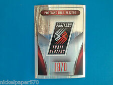 2014-15 Panini NBA Sticker Collection N.310 PORTLAND TRAIL BLAZERS LOGO