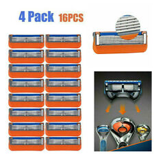 16PCS 5-Layer Razor Blades Shaver Refills Replacement fit for Gillette Fusion