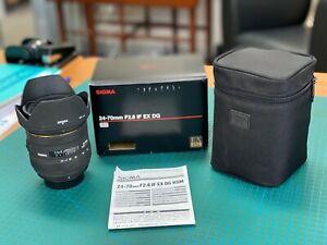 Sigma EX 24-70mm f/2.8 DG Macro Lens for Nikon