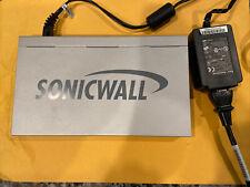 SonicWall TZ 180 5 Port VPN Firewall Router w/ Power Supply