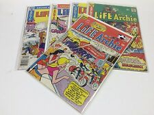LIFE WITH ARCHIE #113-212 (ARCHIE/BRONZE/WB TV SHOW COMING/091550) SET LOT OF 5