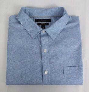 Marc Anthony strech slim fit men's shirt short sleeve size XL
