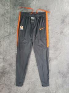Men's 2016/2017 Nike Shakhtar Donetsk Dry Squad Football Pants Gray sz MEDIUM
