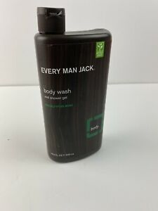 Every Man Jack Body Wash And Shower Gel Eucalyptus Mint 16.9 oz 500 ml Unsealed