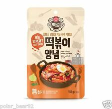 Korean Sweet Spicy Topokki (TTeokbokki) Sauce 150g for Rice Cake Made in Korea