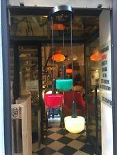 LAMPADA A SOSPENSIONE 50/60s VETRO MURANO STILNOVO GLASS CHANDELLIER